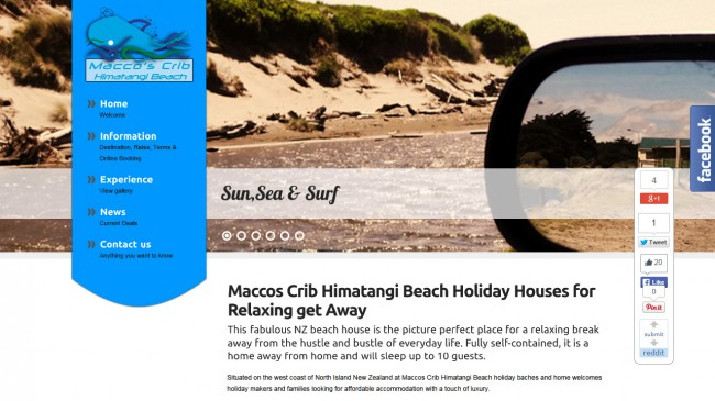 Himatangi Beach Holiday House